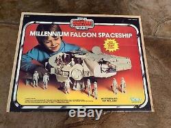Vintage Wars Étoiles Falcon Coffret Esb Millenium Kenner 1981 Complet