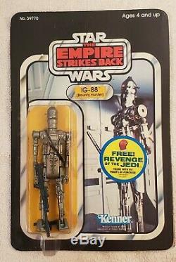Vintage Wars Étoiles Ig-88 Afa Unpunched. Grèves Empire Retour Bounty Hunter