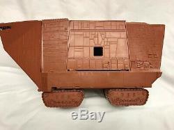Vintage Wars Étoiles Jawa Sandcrawler Kenner 1979 (no Remote Control) + Figures
