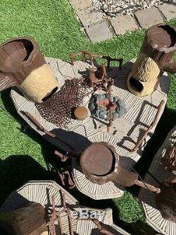Vintage Wars Étoiles Joblot Bundle, 3 X Ewok Village Complet, Ewoks, Scout Walkers