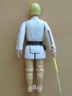 Vintage Wars Étoiles Luke Skywalker Dt Double Lightsaber Hh Telescoping Hilt 1977
