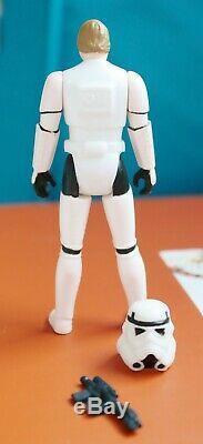 Vintage Wars Étoiles Luke Stormtrooper Disguise Potf 1984 Kenner Figure Complète