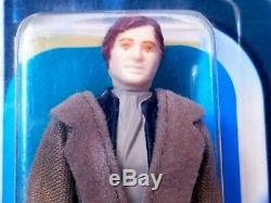 Vintage Wars Étoiles Moc Han Solo / Empereurs Garde Royale Salesman Sample Afa 70