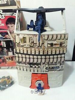 Vintage Wars Étoiles Palitoy Death Star Station Spatiale Très Rare Playset Boxed