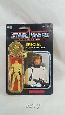 Vintage Wars Étoiles Potf 92 Retour Luke Skywalker Stormtrooper Moc Dernier 17 Voir Desc