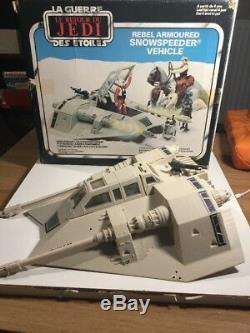 Vintage Wars Étoiles Snowspeeder Au Sein De Sa Boîte Originale
