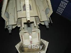 Vintage Wars Imperial Shuttle Étoiles Complète De Travail Électrique