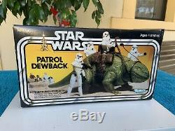 Vintage Wars Patrol Étoiles Dewback Boxed Avec Insert Mint C9 1979