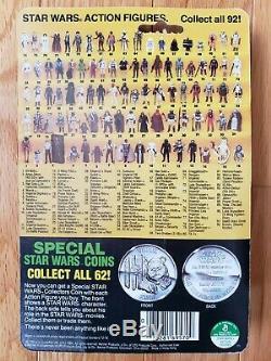 Vintage Wars R2-d2 Étoiles Pop-up Lightsaber Potf Last 17 Kenner 1984 Moc