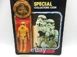 Vintage Wars Stormtrooper Étoiles Potf Moc Figure Kenner Power Toys De La Force 1985