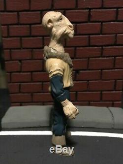 Vintage Yak Visage Star Wars Potf Figurine (kenner 1985) + Arme Originale