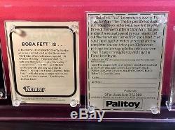 Vintage-star Wars-1979-paletoy-boba Fett-boîte Aux Lettres-avec Carte Postale De Consommateur-afa 75