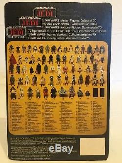 Visage De Rotj Yak Très Rare De Tri Logo De Star Wars De Cru, Carte Immaculée 70 Perforée