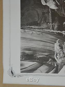 Vtg Jim Henson Brian Froud Trousse De Programme De Communiqués De Presse Sur L'album Photos En Cristal Foncé