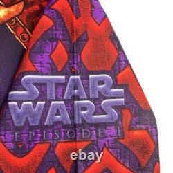 Vtg Rare Star Wars Episide 1 Darth Maul Allover Imprimer T-shirt. Hommes XL