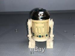 Vtg Star Wars Potf R2-d2 Lampe-lumiere Pop Up - Des Travaux! Les 17 Derniers Aucun Sabre -ex +