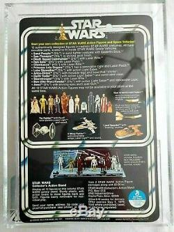 Wars Vintage 12 Étoiles Back-un Darth Vader Afa 85 Nm + (85/80/85)! Belle Moc