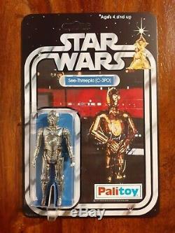 Wars Vintage 12 Étoiles Figure Retour Recard Set Palitoy 1977 R2d2, C3po. Luc, Jawa