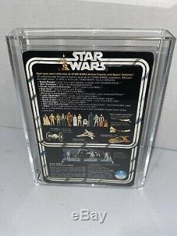 Wars Vintage 1978 Étoiles Han Solo 12 Retour Afa 85 Nm + Unpunched Petite Tête