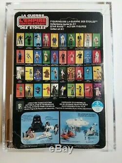 Wars Vintage 1980 Étoiles Boba Fett Canadien Esb Moc Afa 60 (offerless)