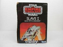 Wars Vintage 1981 Slave Étoiles Esb Un Très Agréable Entièrement Fonctionnel Complet