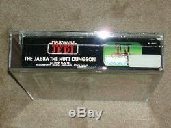 Wars Vintage 1984 Afa 80 Étoiles Jabba Dungeon Potf Ev-9d9 Barada Amanaman