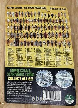 Wars Vintage 1985 Étoiles Kenner R2-d2 Pop-up Sabre Potf Carte Retour Moc