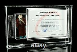Wars Vintage Étoiles LILI Ledy Bourgogne Cape Bib Fortuna Figure Ukg Graded 80 W Coa