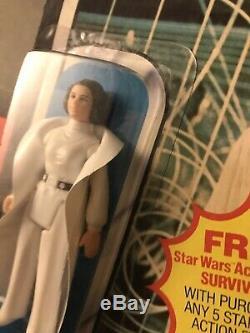 Wars Vintage Star Princess Leia Organa Moc Esb (pop Supprimé) De Condition Superbe