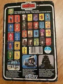 Yoda Star Wars Kenner Vintage Moc Batteur 32 Dos Empire Frappe Figure En Arrière