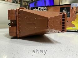 ^vintage 70's Kenner Star Wars Radio Contrôlé Sandcrawler Avec Boîte. Pas De Télécommande